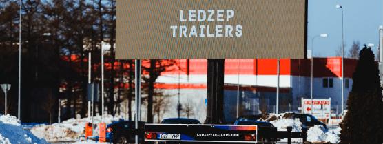 Ledzep Group LED treilerid, Led treilerite rent, LED treileri rent, välireklaam, väliekraan