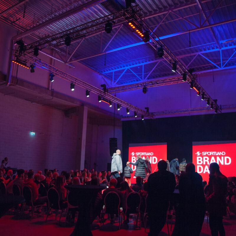 Sportland Brand Day 2019, ürituse tehniline partner Ledzep Group