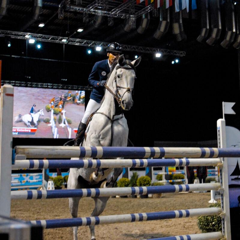 Tallinn Horse Show 2019 Saku Suurhallis, tehniline partner Ledzep Group