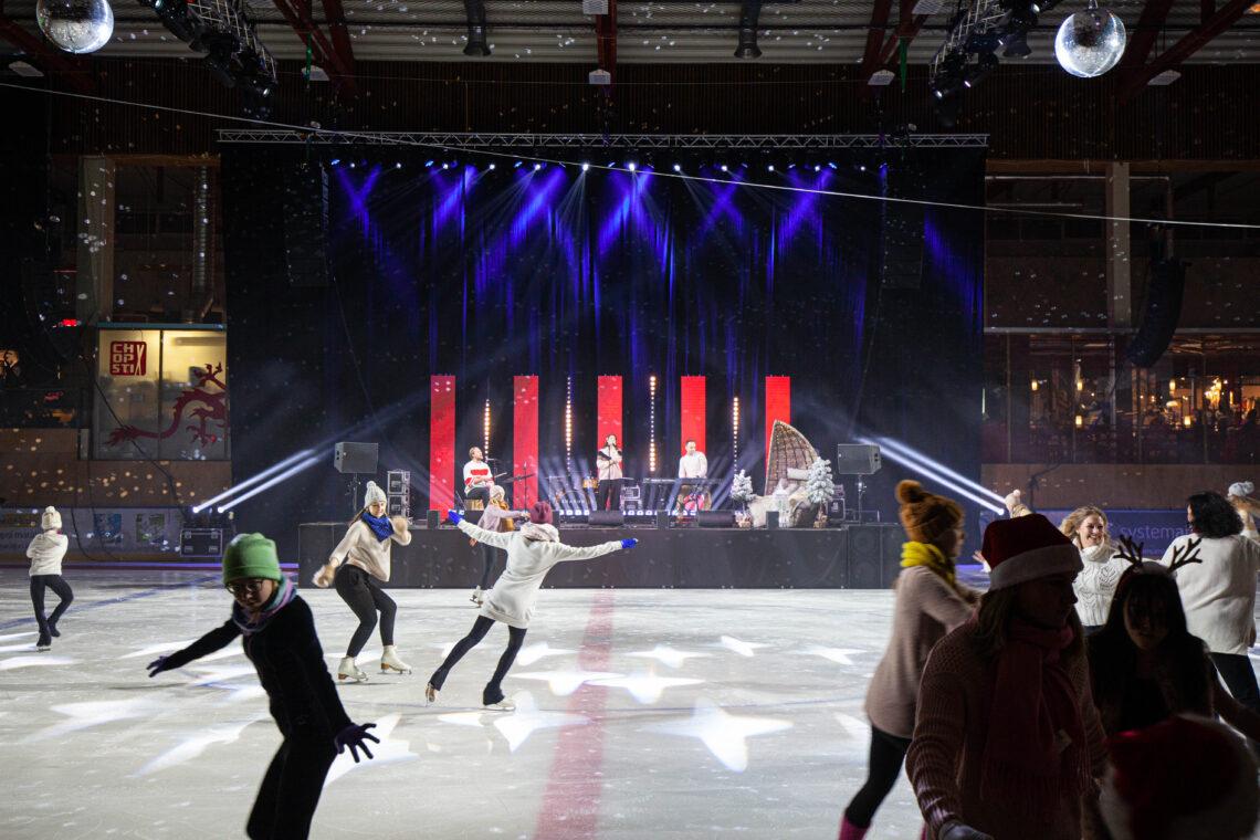 Imede öö 2019 Tartu Lõunakeskuses, tehniline partner Ledzep Group
