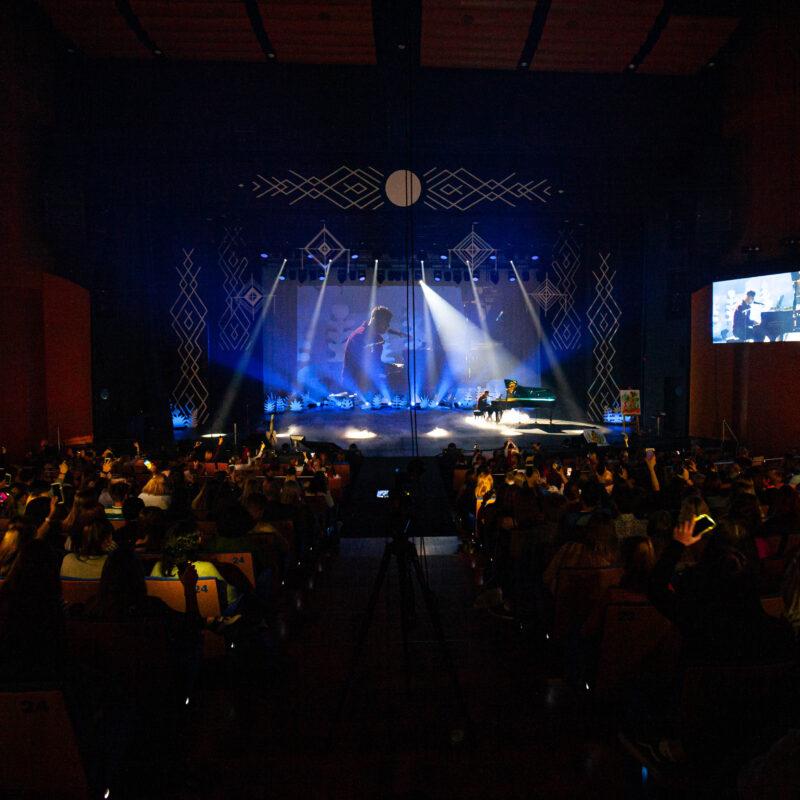 Lahe Koolipäev 2019 üritus Alexela Kontserdimajas, noorte üritus, tehniline partner Ledzep Group