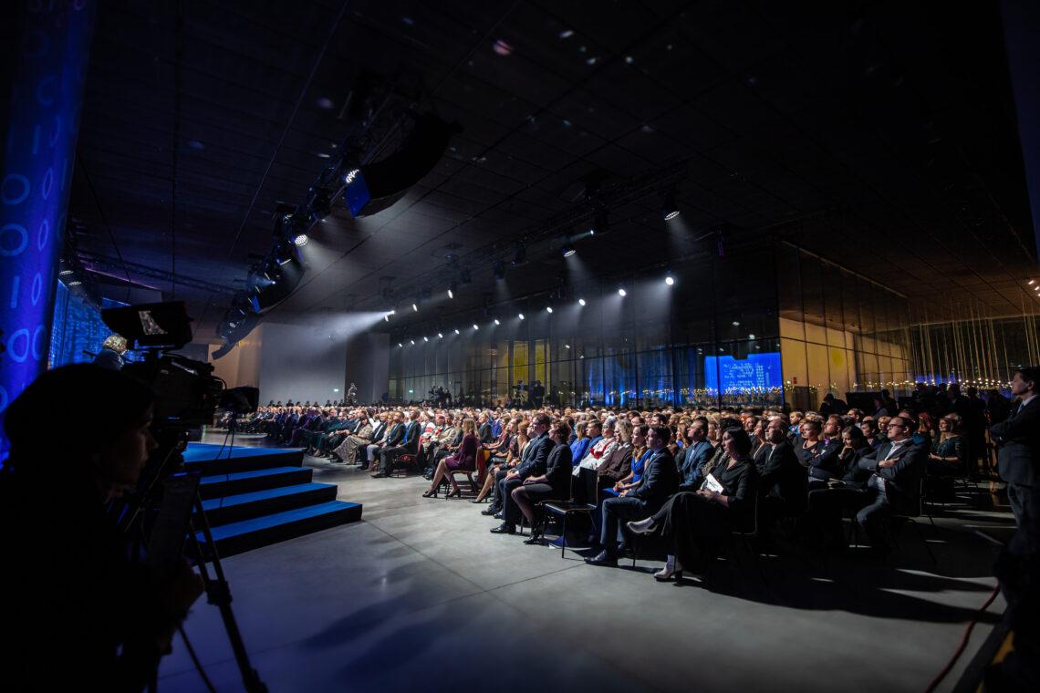 EV 100 tänuüritus Eesti Rahva Muuseumis ERMis, tehniline partner Ledzep Group