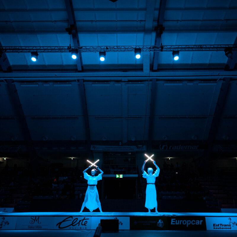 Tallinna Mõõk 2019 rahvusvaheline vehklemise võistlus, ürituse tehniline partner ja otseülekande teostaja Ledzep Group
