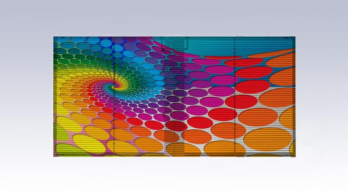 Läbipaistvad ekraanid - LED ekraanid - Ledzep Group