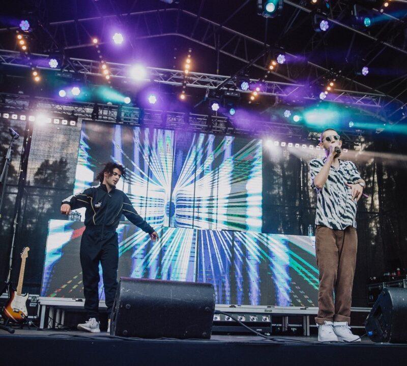 Eesti Hiphop Festival 2020 ekraanid, lavalahendus, DJ booth - Ledzep Group