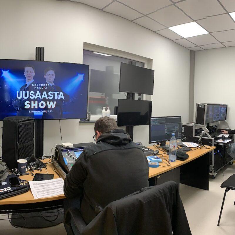 Ekspress Meedia uusaasta show, Ledzep Studio virtuaalürituste stuudio, Ledzep Group