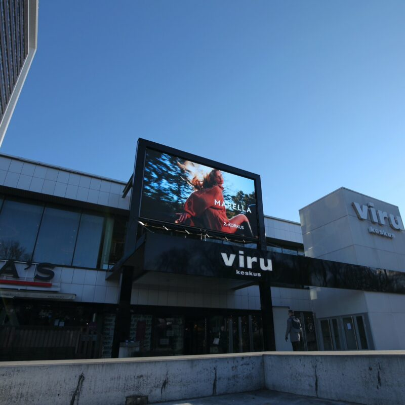 Viru Keskus shopping centre digitalization